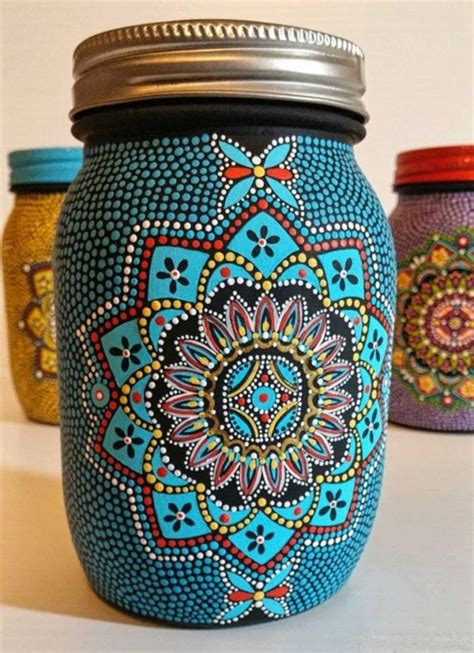 jar painting ideas 42 beautiful glass painting ideas and designs for beginners
