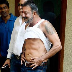 After Sanjay Dutt's photo showing his abs go viral ...