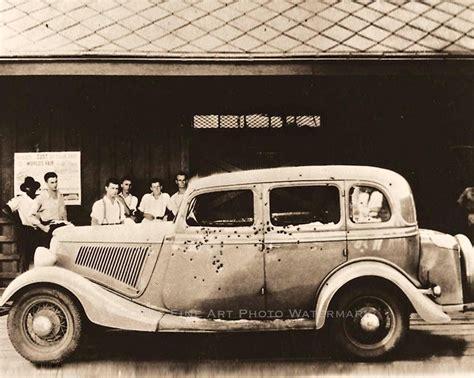 Ford V8, De Bonnie&clyde Auto!