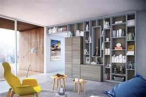 Faire Sa Bibliothèque Soi Même : biblioth que de salon sur mesure archea ~ Preciouscoupons.com Idées de Décoration
