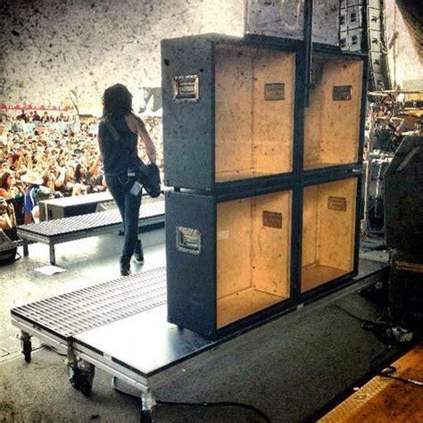do bands use dummy marshall cabinets on stage marshallforum
