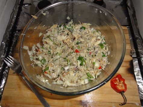 recette de cuisine antillaise guadeloupe chiquetaille morue recette antillaise 2
