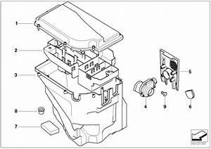 Bmw X5 E-box Fan  Control  Unit - 12901438023