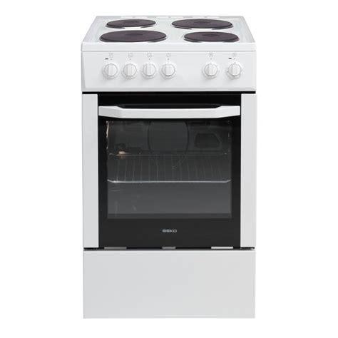 cuisine electrique beko css56000gw cuisinière électrique 50cm bla achat vente cuisinière piano cdiscount