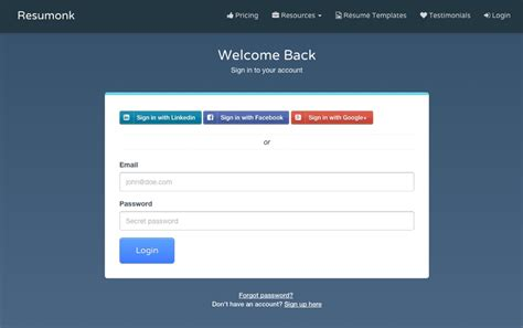 Cv Maker Login by Cv Maker Login Driverlayer Search Engine