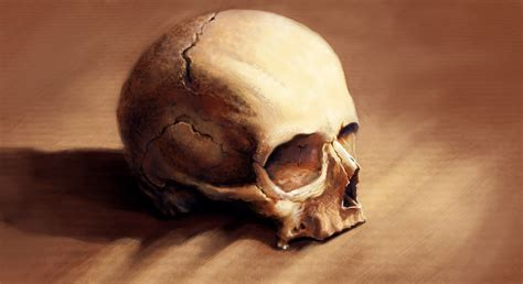 famous skull paintings