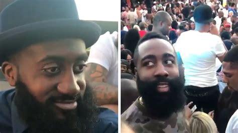 james harden meets  beard twin  atlanta sbnationcom