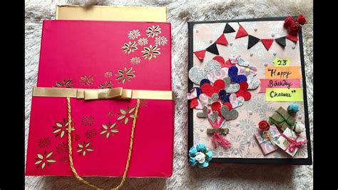 diy  birthday giftbirthday scrapbook ideashandmade