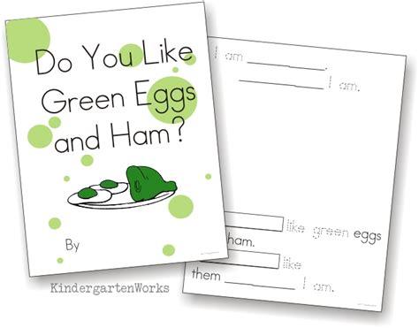 green eggs and ham class book activity kindergartenworks 597 | dr seuss class book2