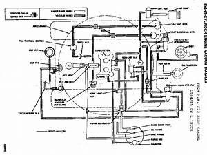 Vacuum Line Diagram 84 Chevy 954 85 305