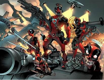 Deadpool Marvel Comics Corps Comic Wallpapers Supereroi