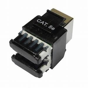 Details Of Ftp Cat5e T568a T568b Wiring Rj45 Black Modular
