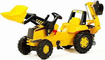 Pedal Tractor Toy Caterpillar Backhoe Loader Tractors