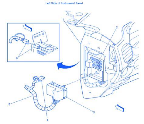 chevy impala   dash electrical circuit wiring