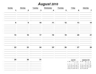 calendar template printable calendar blank