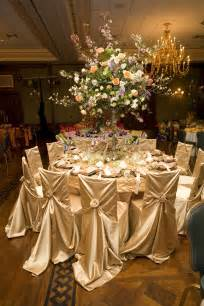 wedding linens silver and sparkle is the focus notice the confetti garland detail nicely done photo