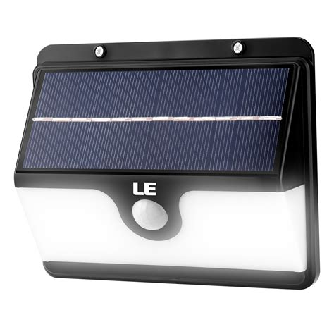 solar sensor wall light led wall light solar powered led motion sensor light le