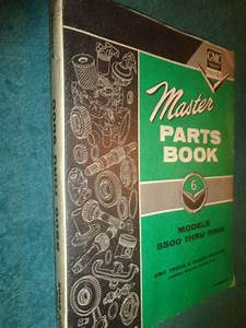 1960 Gmc Medium  U0026 Heavy Duty Truck Master Parts Catalog