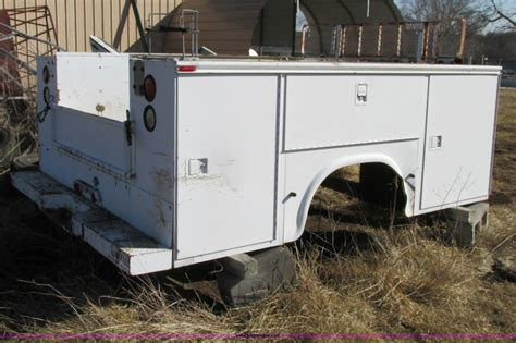 Knapheide Utility Bed by Construction Equipment Auction In Wichita Kansas By