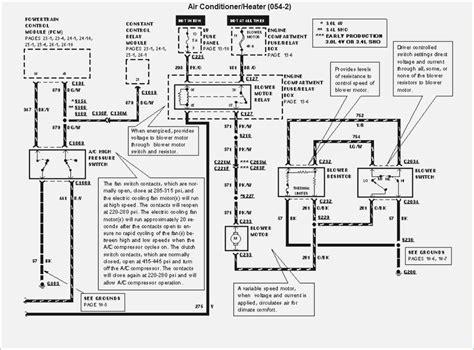 2002 ford taurus ac compressor wiring diagram