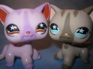 lps cat littlest pet shop cats 933 and 468 littlest pet shop
