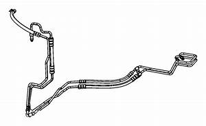 2008 Chrysler Town  U0026 Country Hose  Used For  Power Steering Pressure And Return