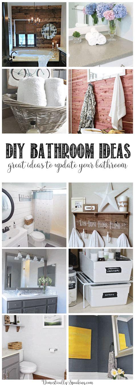 26 great bathroom storage ideas diy bathroom ideas domestically speaking