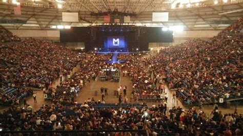 inspirational tacoma dome seating chart  rows