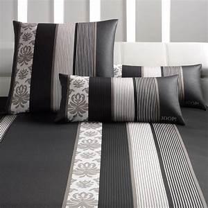 Bettwäsche Schwarz 200x200 : joop ornament stripes mako satin bettw sche schwarz 09 boudoir ~ Whattoseeinmadrid.com Haus und Dekorationen
