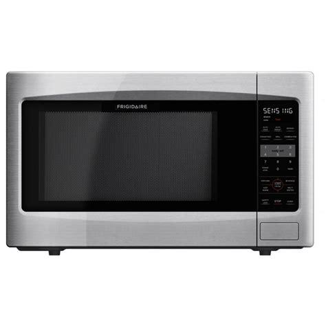 stainless steel countertop microwave shop frigidaire 2 2 cu ft 1 200 watt countertop microwave