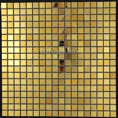 carrelage cuisine mosaique carrelage inox dore mosaique faience gold mix 15