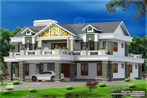 sqfeet super luxury home design kerala home design  floor plans