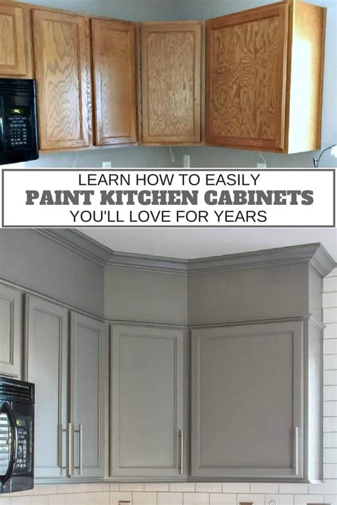 Painting Kitchen Cabinets Ideas Home Renovation - how to easily paint kitchen cabinets you will love inspiration for moms