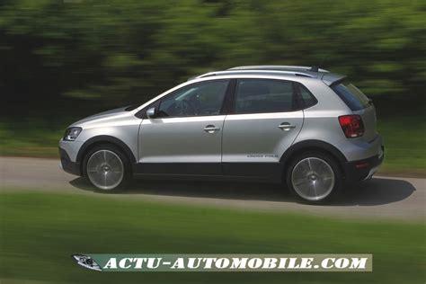 volkswagen crosspolo la gamme les tarifs