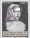 Francobolli: Margaret of Austria (1480 - 1530) (Francia ...
