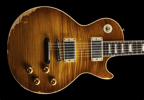 59 reissue les paul quot heavy aged quot benchmark limited run