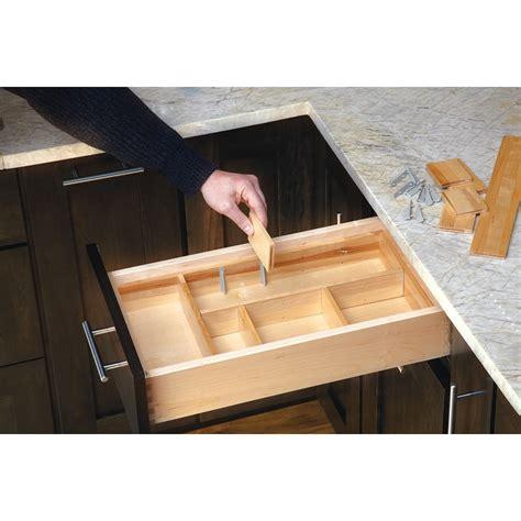 shop rev  shelf      wood drawer organizer  lowescom