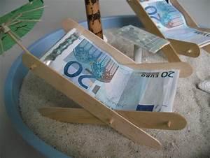 Liegestuhl Aus Geld : liegestuhl basteln aus geld my blog ~ Lizthompson.info Haus und Dekorationen