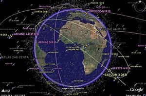 How Satellites Orbit the Earth - Pics about space