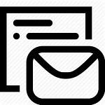 Template Icon Email Message Mail Chat Sms