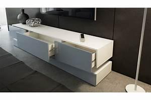 Meuble Tele Bas : meuble t l bas design miami cbc meubles ~ Teatrodelosmanantiales.com Idées de Décoration