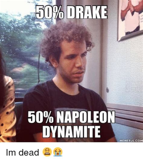 Eminem Drake Meme - drake 50 napoleon dynamite memeful com im dead drake meme on sizzle