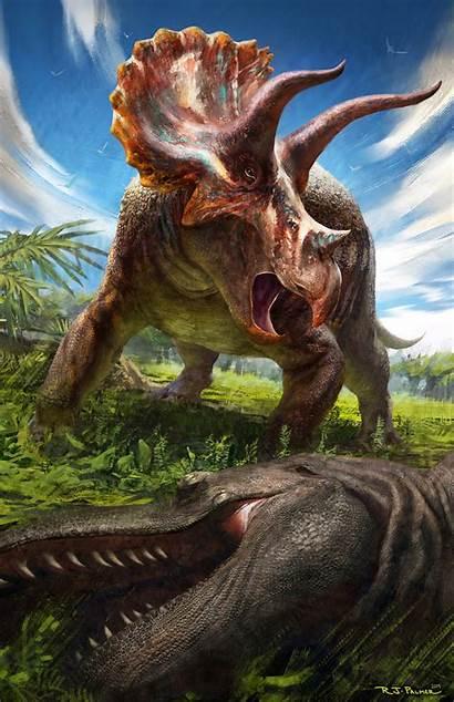Triceratops Palmer Rj Horridus Card Ceratopsian Package