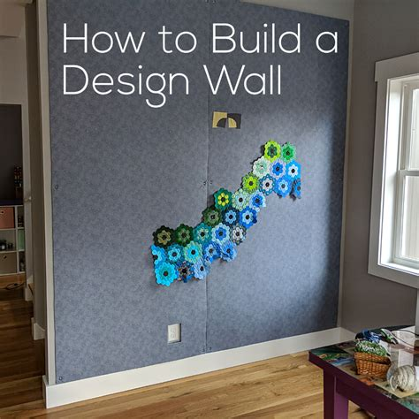 Design Board by How To Build A Design Wall Flannel Board Bulletin Board