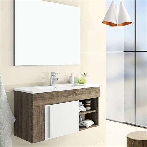meuble de salle de bain avec meuble de cuisine meuble salle de bain 80 cm avec miroir granada