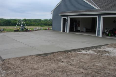 average cost of a new driveway new berlin wi concrete driveway installation jbs construction