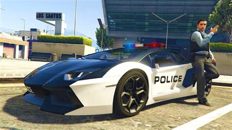 Play As A Cop Mod #18! Gta 5 Bad Cop