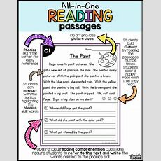Long Vowel Reading Passages  Allinone Set Two By A Teachable Teacher