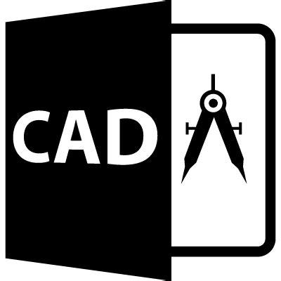 cad file format symbol  vectors logos icons
