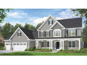 colonial homes floor plans eplans colonial house plan space where it counts 2523 square and 4 bedrooms from eplans